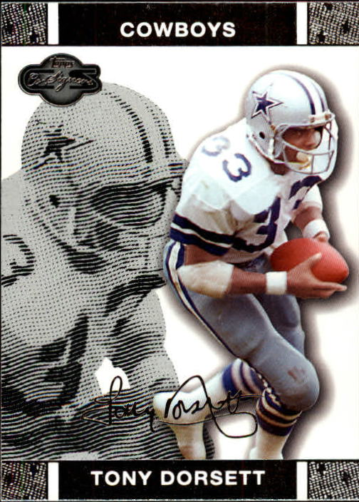 2007 Topps Co-Signers #48 Tony Dorsett