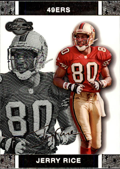 2007 Topps Co-Signers #50 Jerry Rice