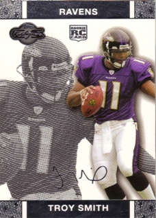 2007 Topps Co-Signers #57 Troy Smith RC