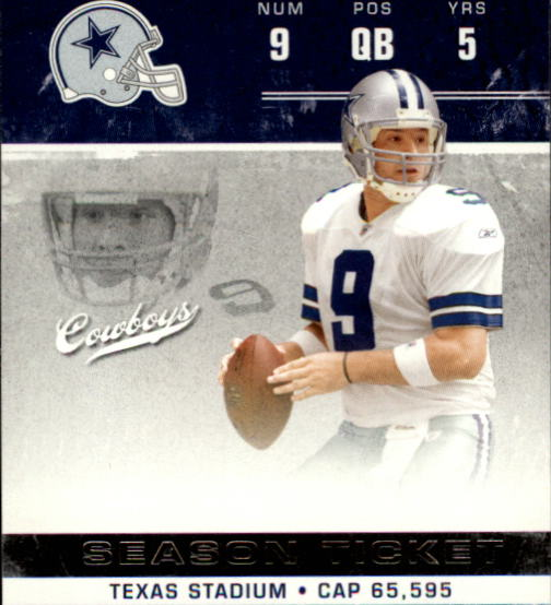 2007 Playoff Contenders #27 Tony Romo