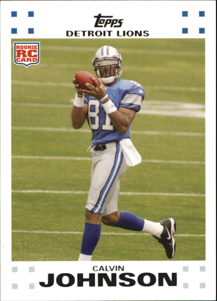 2007 Topps Exclusive Rookies #2 Calvin Johnson