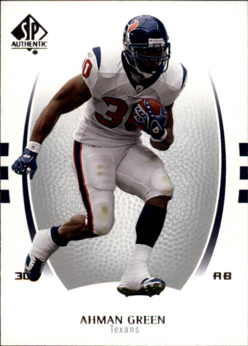 2007 SP Authentic #1 Ahman Green