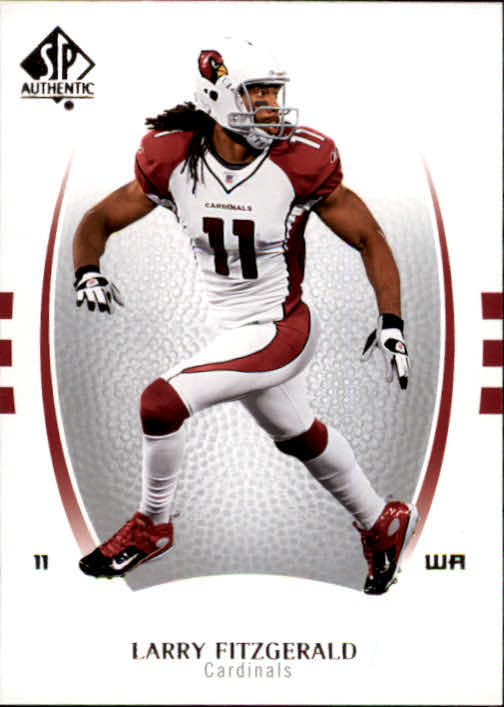 2007 SP Authentic #53 Larry Fitzgerald