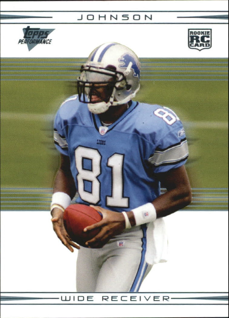 2007 Topps Performance #116 Calvin Johnson RC