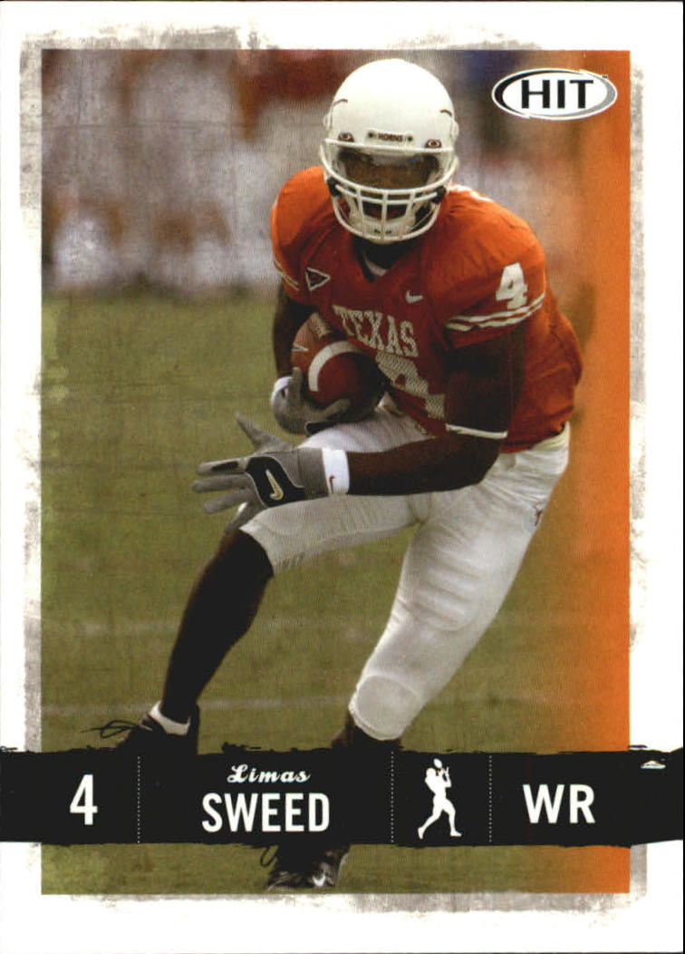2008 SAGE HIT #4 Limas Sweed
