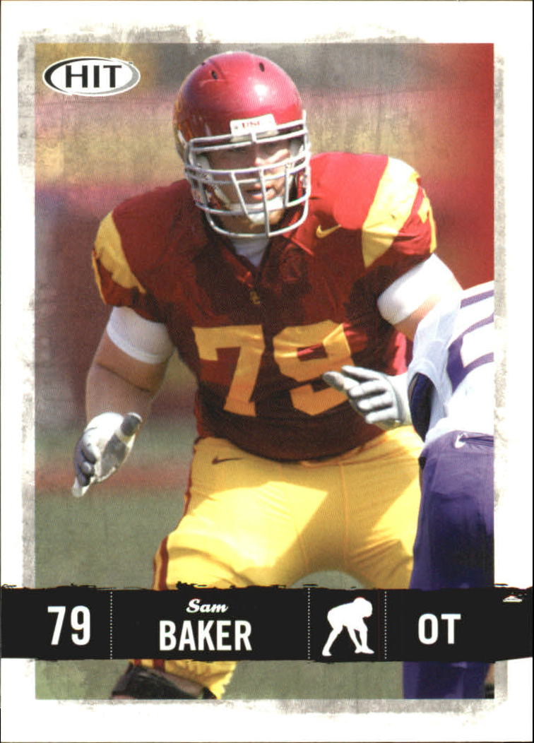 2008 SAGE HIT #15 Sam Baker