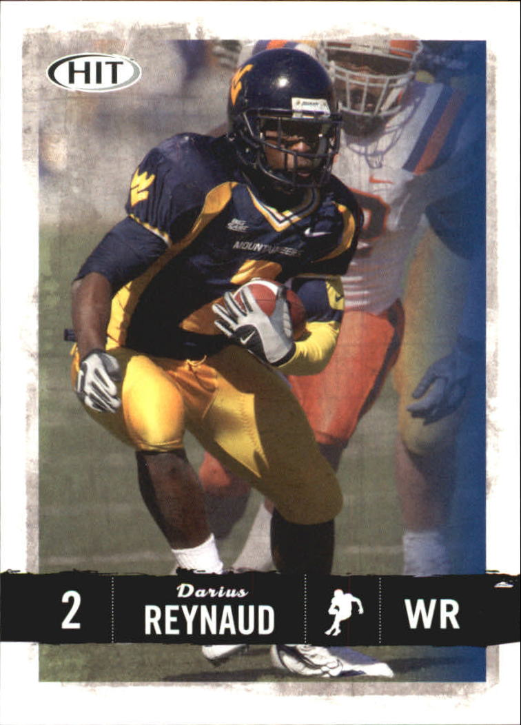 2008 SAGE HIT #20 Darius Reynaud