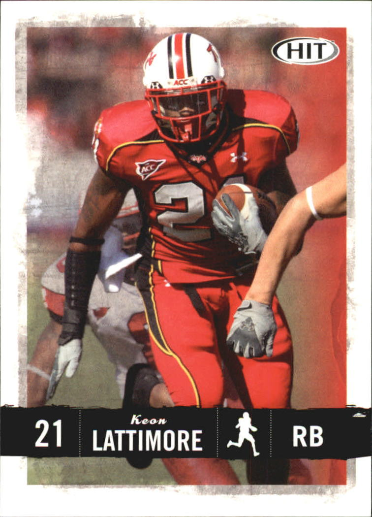 2008 SAGE HIT #21 Keon Lattimore