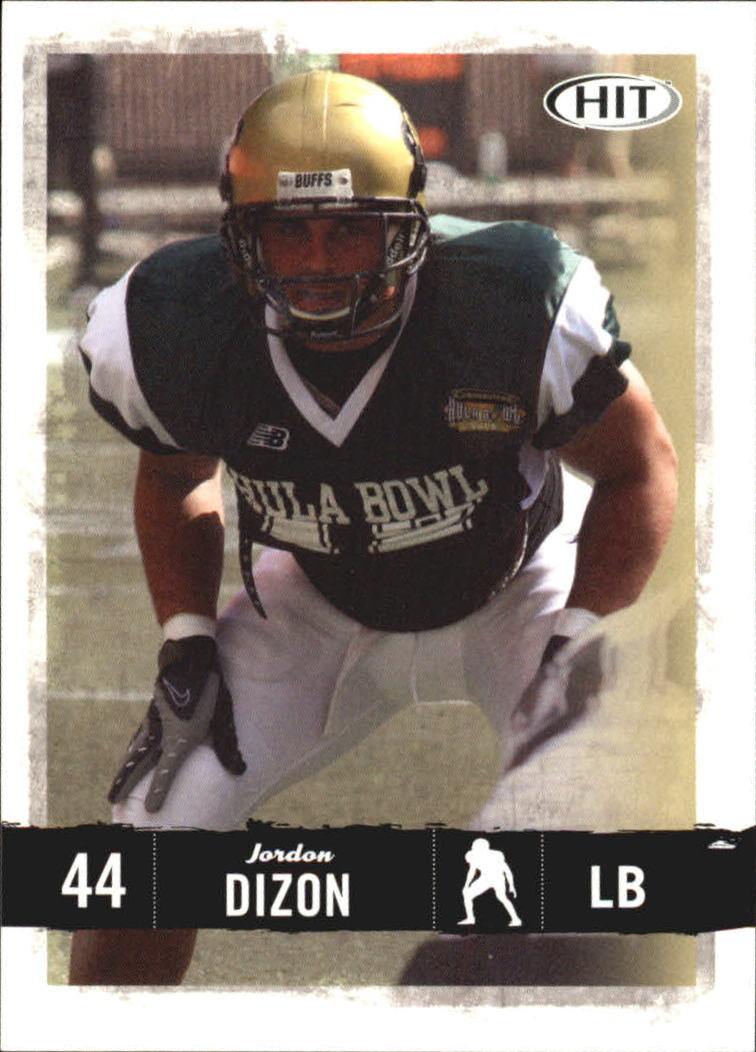2008 SAGE HIT #44 Jordon Dizon