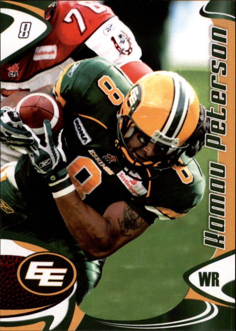 2007 Extreme Sports CFL #64 Kamau Peterson