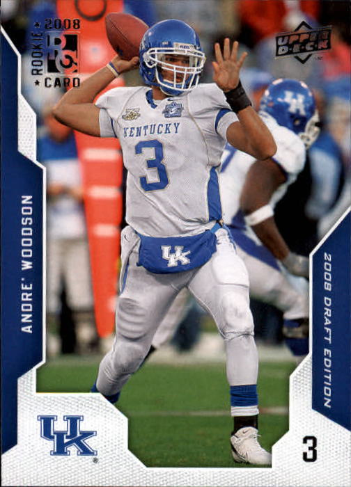 2008 Upper Deck Draft Edition #4 Andre Woodson RC