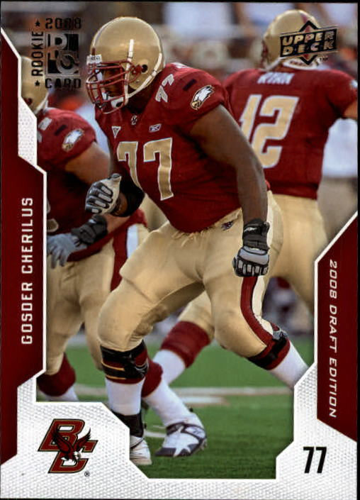 2008 Upper Deck Draft Edition #9 Gosder Cherilus RC