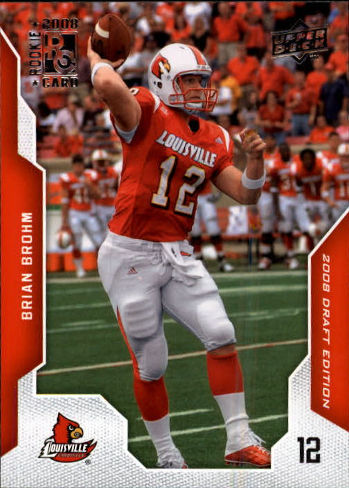 2008 Upper Deck Draft Edition #10 Brian Brohm RC