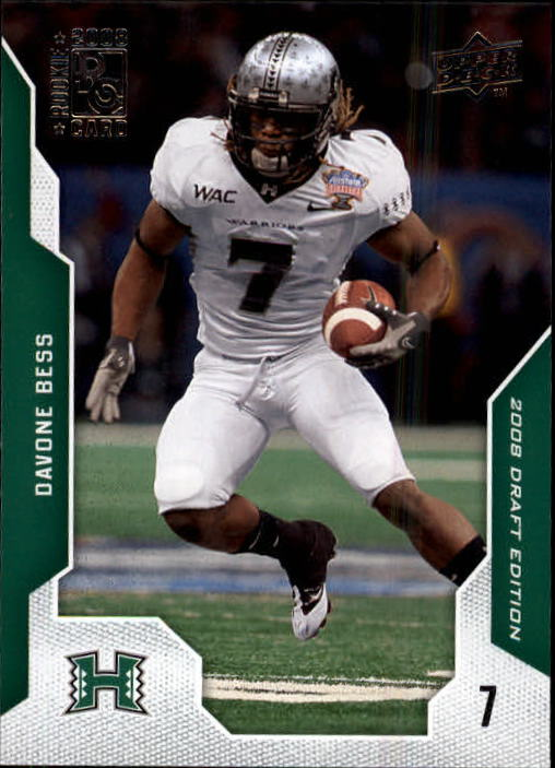 2008 Upper Deck Draft Edition #14 Davone Bess RC