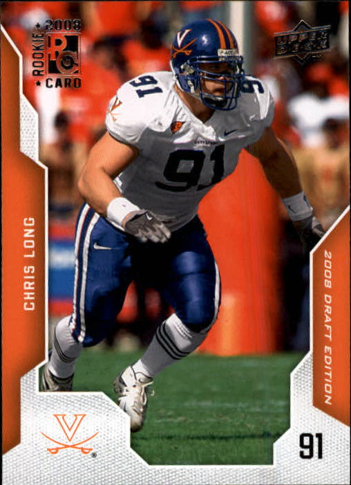 2008 Upper Deck Draft Edition #17 Chris Long RC