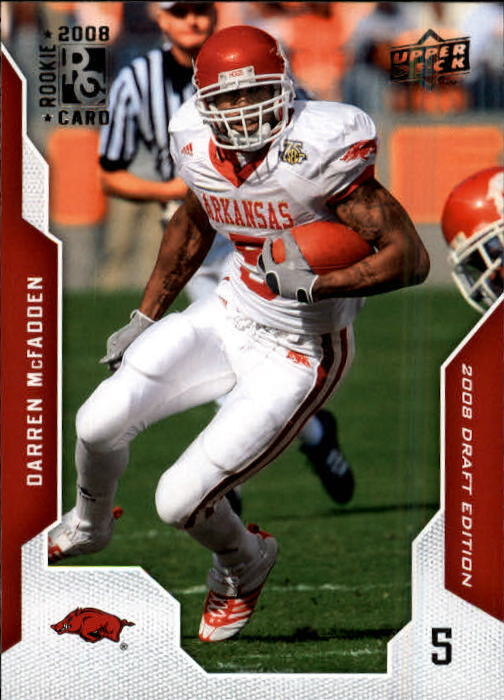 2008 Upper Deck Draft Edition #22 Darren McFadden RC