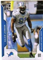 2008 Upper Deck Draft Edition #136 Calvin Johnson front image