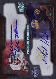 2008 Upper Deck Draft Edition Autographs #214 Darren McFadden/Mike Hart/Pigskin Pairings