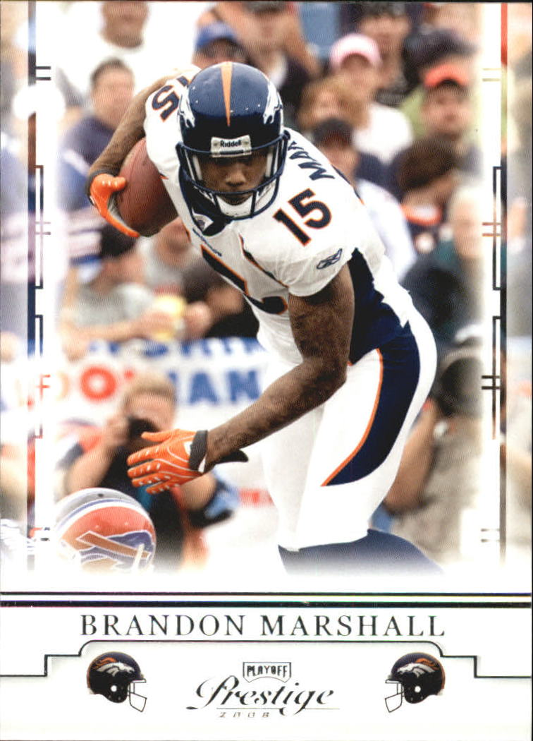 2008 Playoff Prestige #31 Brandon Marshall