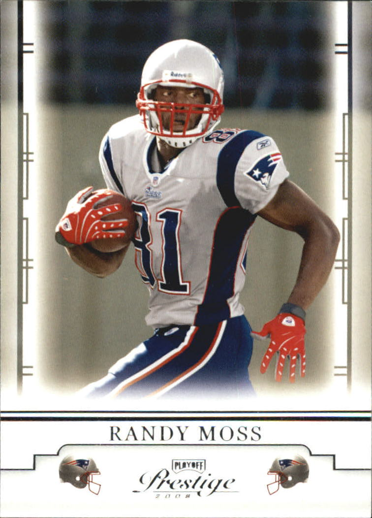 2008 Playoff Prestige #57 Randy Moss