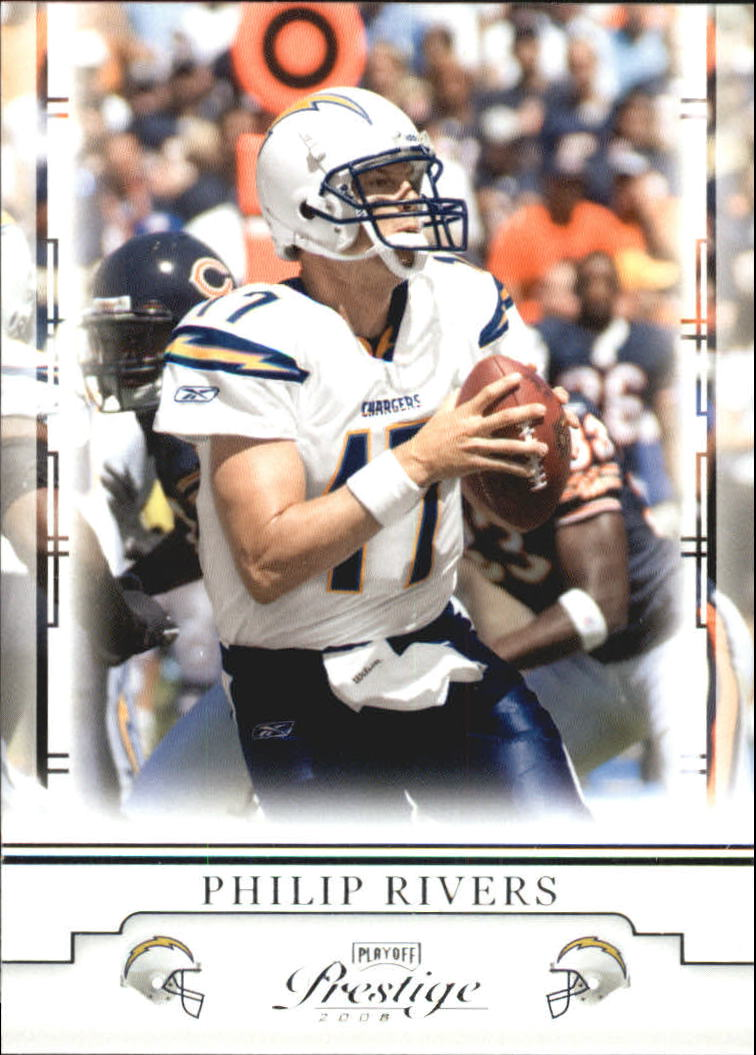 2008 Playoff Prestige #80 Philip Rivers