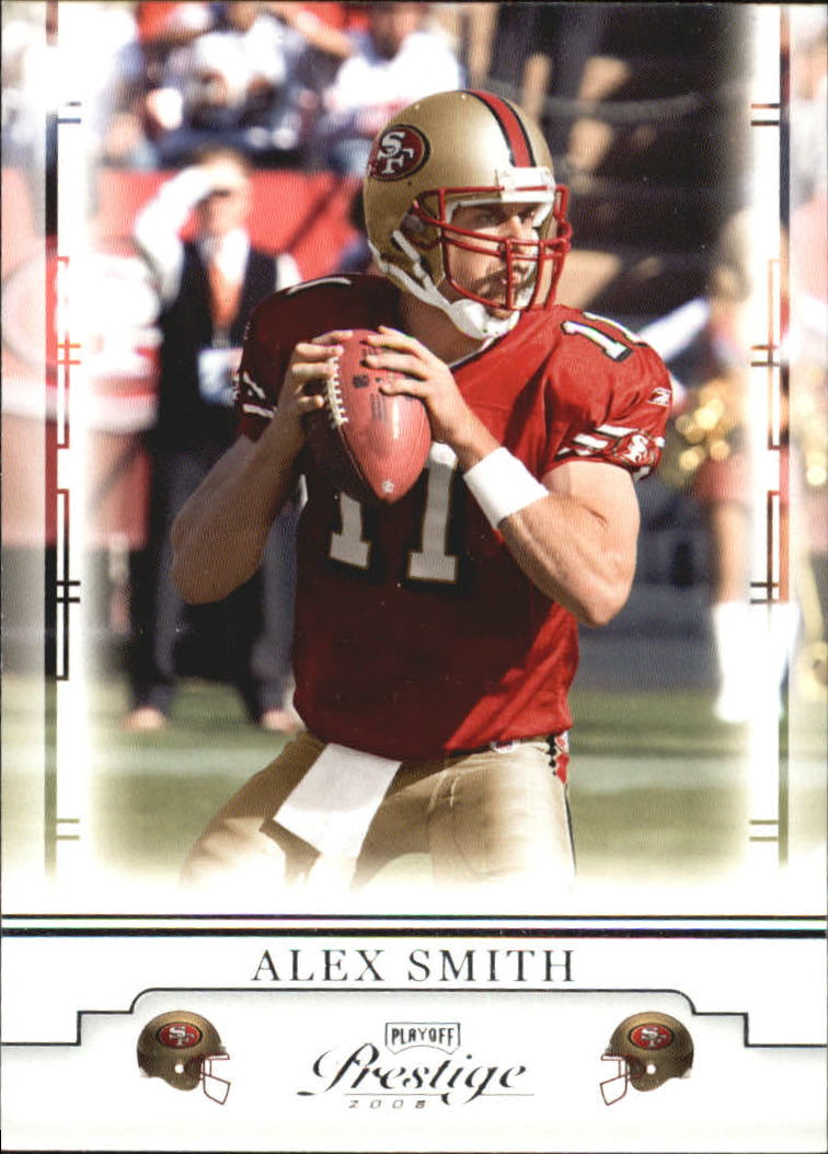 2008 Playoff Prestige #83 Alex Smith QB