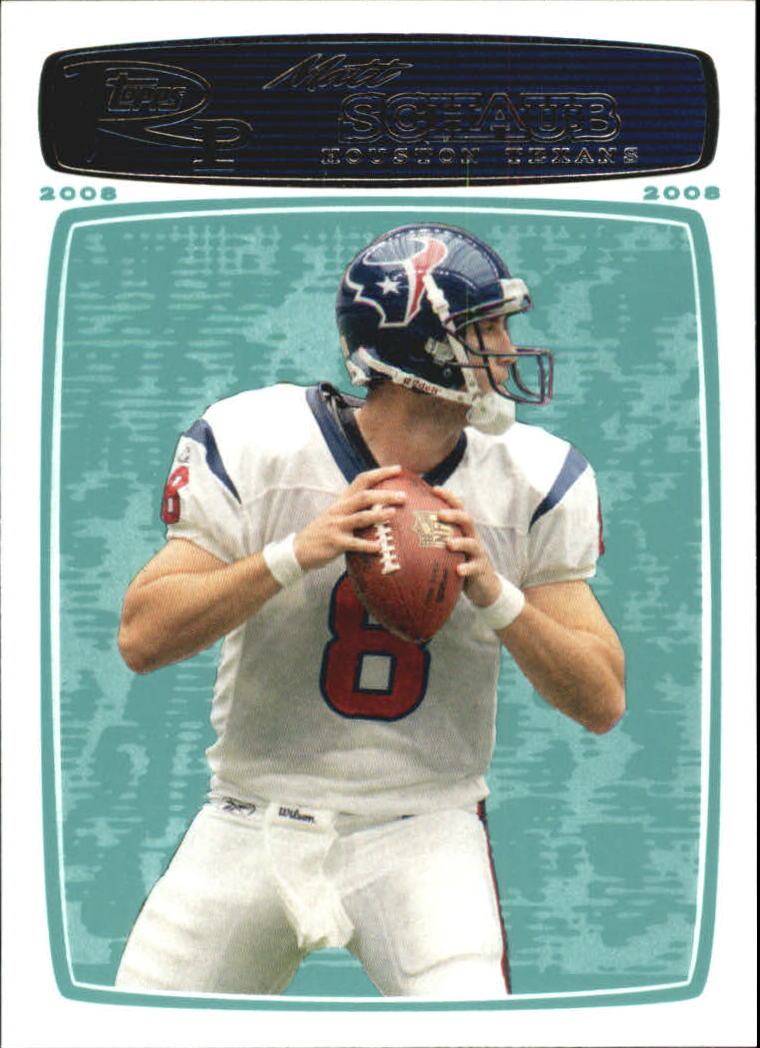 2008 Topps Rookie Progression #10 Matt Schaub