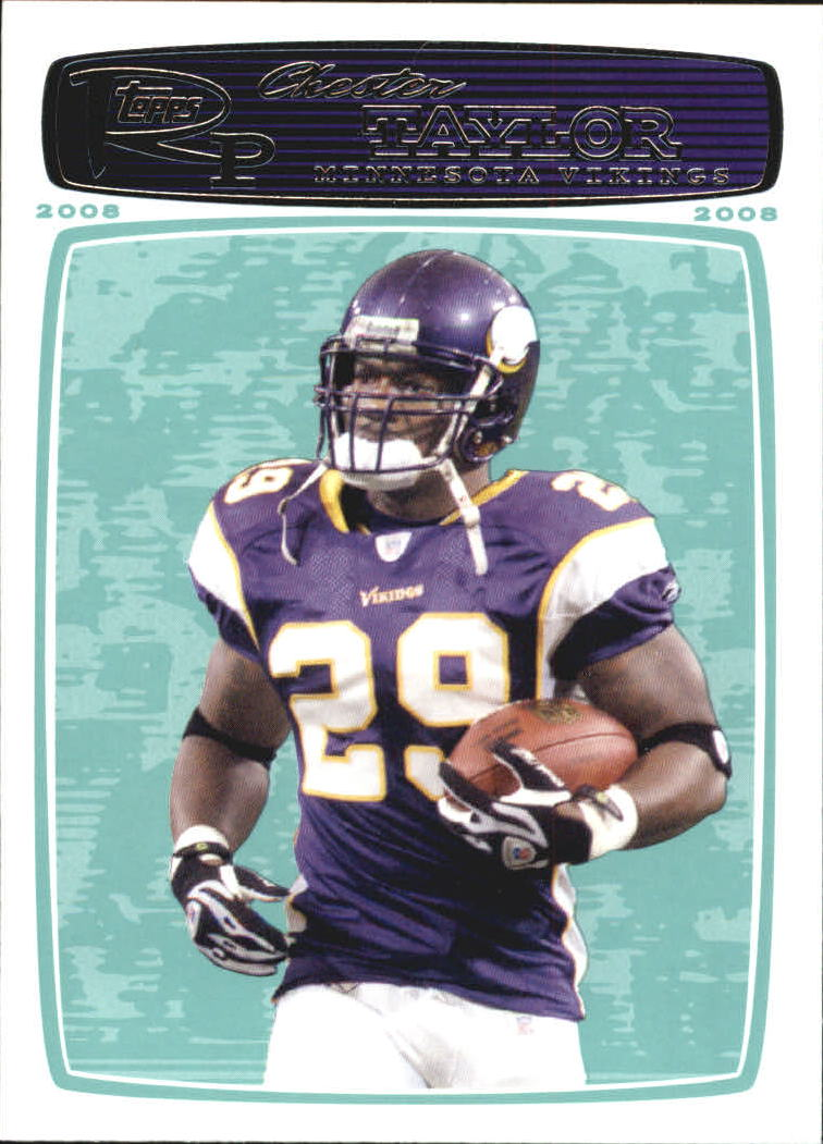 2008 Topps Rookie Progression #133 Chester Taylor