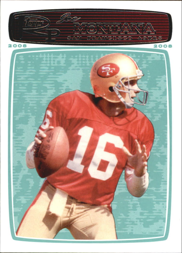 2008 Topps Rookie Progression #160 Joe Montana