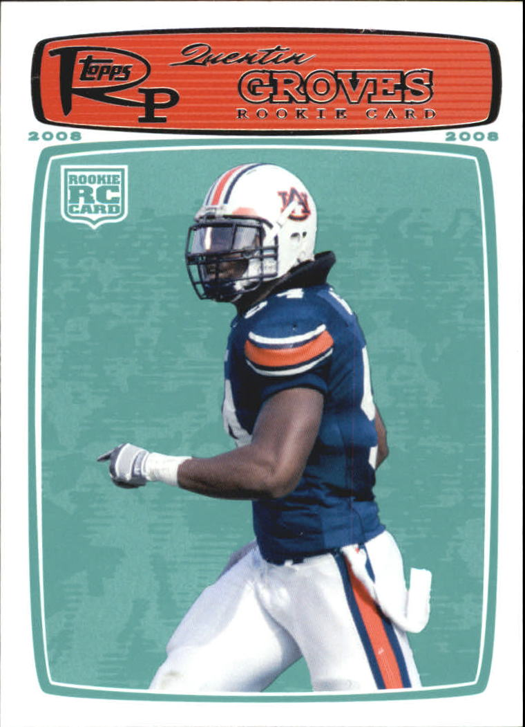 2008 Topps Rookie Progression #174 Quentin Groves RC