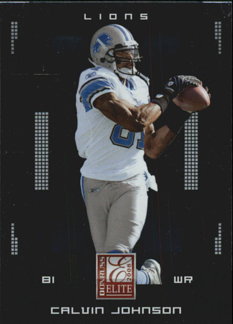 2008 Donruss Elite #34 Calvin Johnson