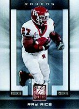 2008 Donruss Elite #122 Ray Rice/999 RC
