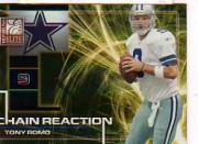 2008 Donruss Elite Chain Reaction Gold #10 Tony Romo