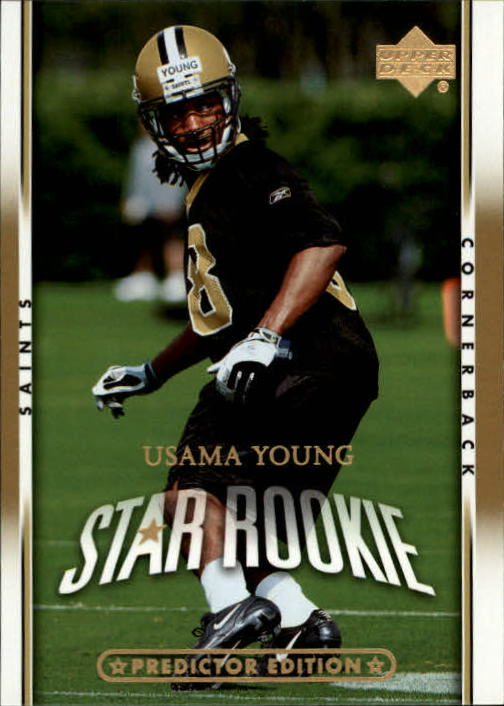 2007 Upper Deck Gold Predictor Edition #243 Usama Young