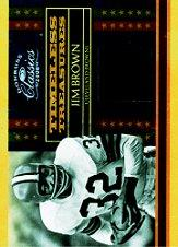 2008 Donruss Classics Timeless Treasures Material #7 Jim Brown