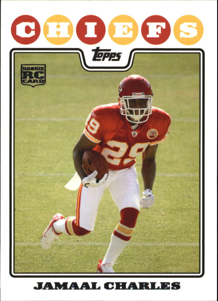 2008 Topps #350 Jamaal Charles RC