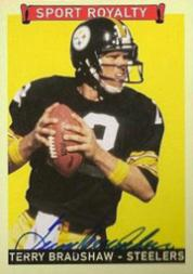 2008 Upper Deck Goudey Sport Royalty Autographs #TB Terry Bradshaw SP