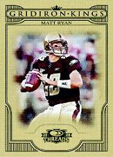 2008 Donruss Threads College Gridiron Kings #27 Matt Ryan