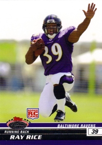 2008 Stadium Club #116 Ray Rice RC