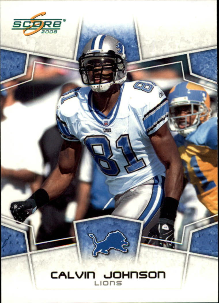 2008 Score #101 Calvin Johnson