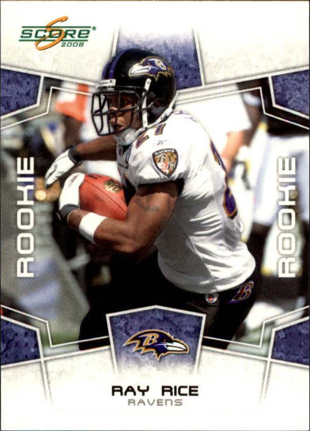2008 Score #374 Ray Rice RC