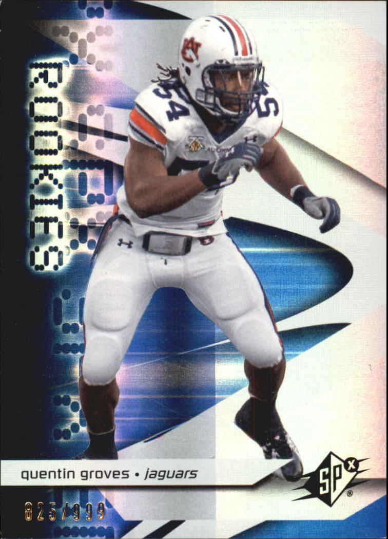 2008 SPx #137 Quentin Groves RC