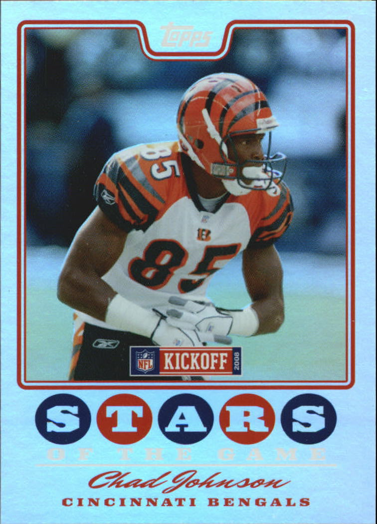 2008 Topps Kickoff Stars of the Game #SGCJ Chad Johnson