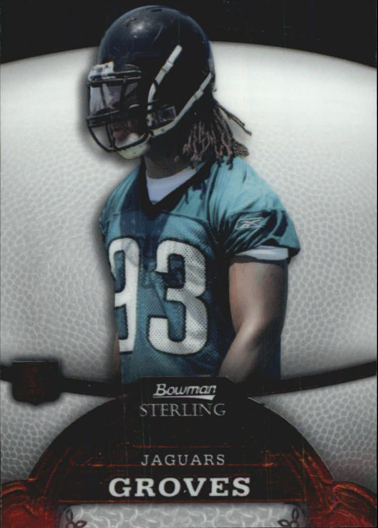 2008 Bowman Sterling #15 Quentin Groves RC