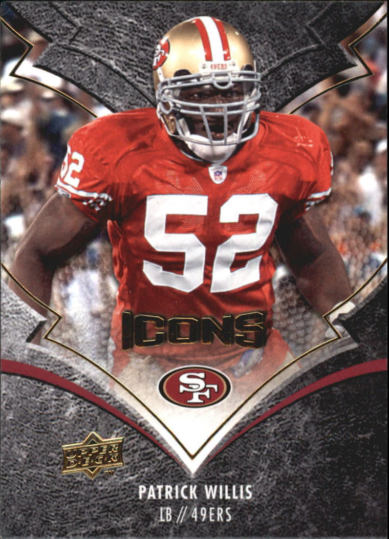 2008 Upper Deck Icons #85 Patrick Willis