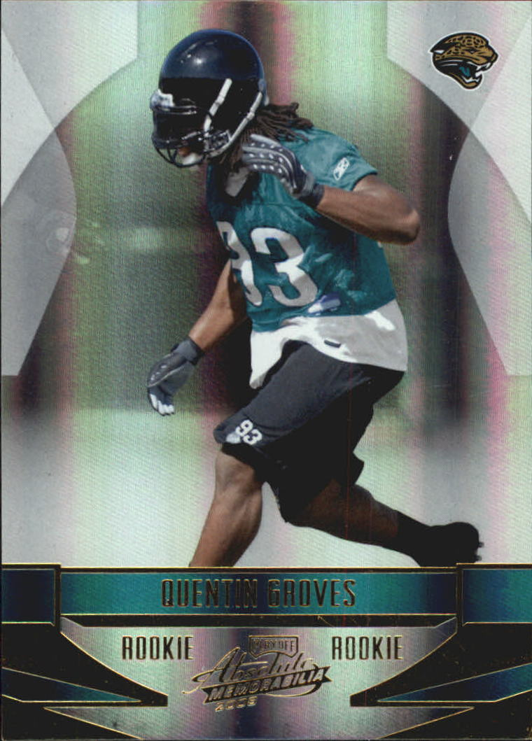 2008 Absolute Memorabilia #229 Quentin Groves RC