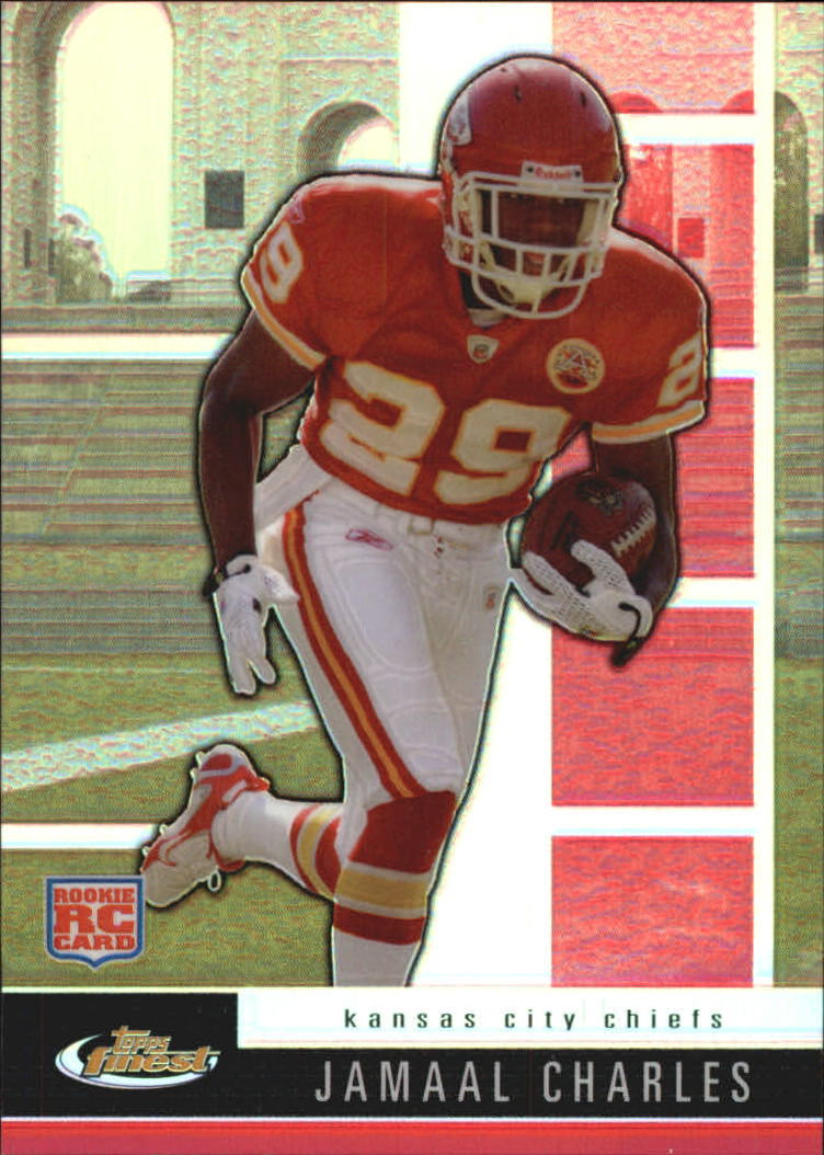 2008 Finest #112 Jamaal Charles RC