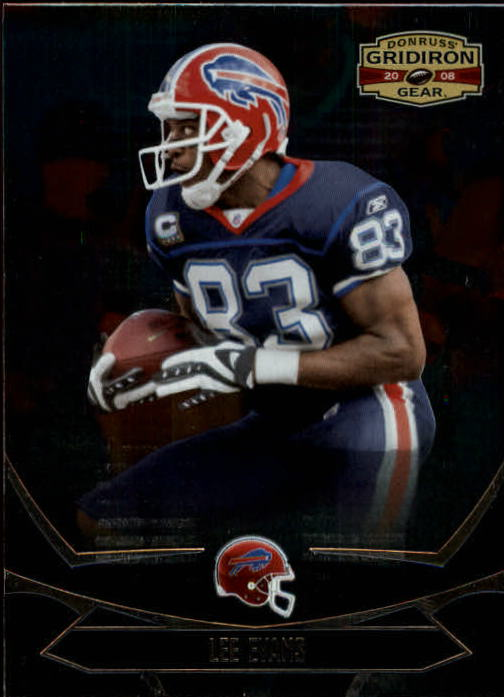2008 Donruss Gridiron Gear #13 Lee Evans