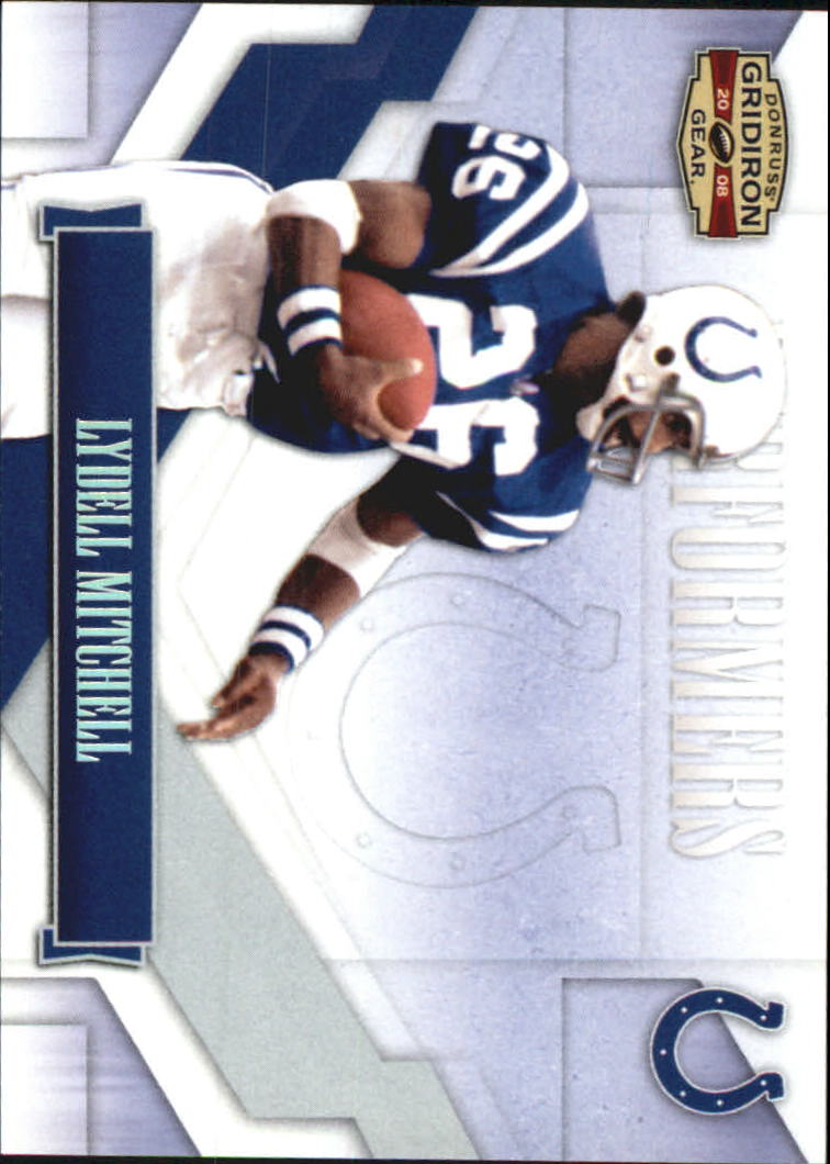 2008 Donruss Gridiron Gear Performers Silver #30 Lydell Mitchell