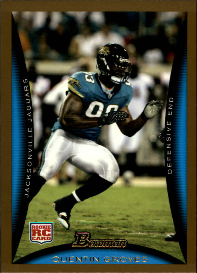2008 Bowman Gold #116 Quentin Groves